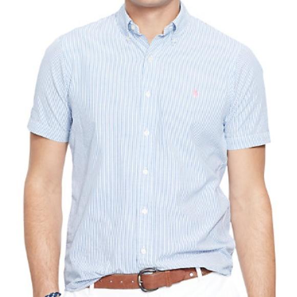 179a45b9c Polo by Ralph Lauren Shirts | Polo Ralph Lauren Mens Seersucker ...